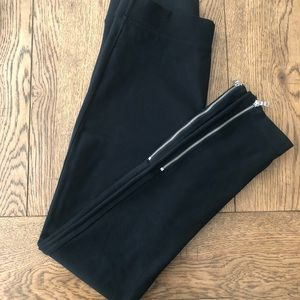 GAP ankle zip leggings